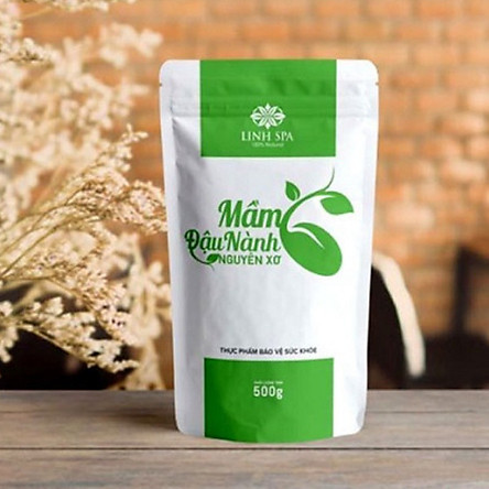 Hình ảnh sản phẩm mầm đậu nành nguyên xơ Linh Spa