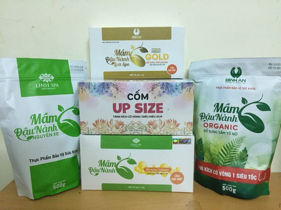 Linh Spa là thương hiệu số 1 về sản phẩm mầm đậu nành