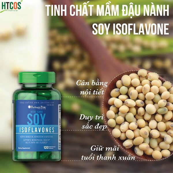 Review mầm đậu nành Natrol Soy Isoflavones có tốt không?