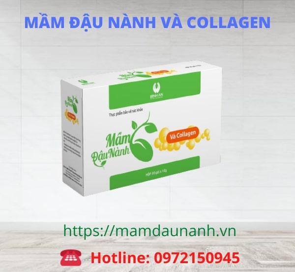 Mầm đậu nành Collagen Linh Spa