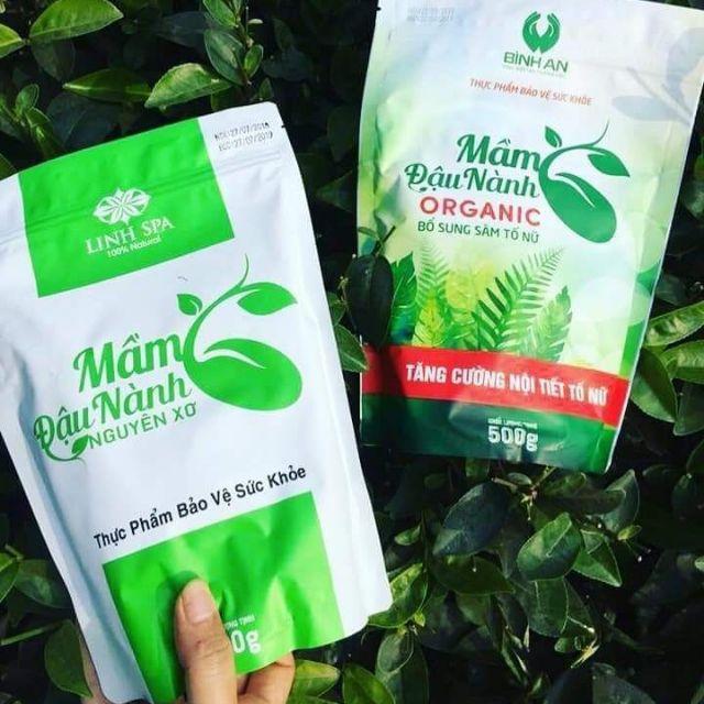 Các sản phẩm từ tinh chất mầm đậu nành giữ được estrogen hàm lượng cao.