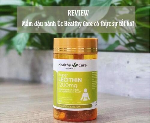 Mầm đậu nành Healthy Care Úc có tốt không?