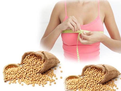 Mầm đậu nành giúp tăng kích cỡ vòng 1 hiệu quả
