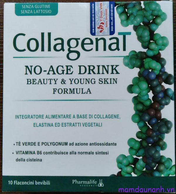 Đánh giá nước uống đẹp da CollagenaT No Age Drink
